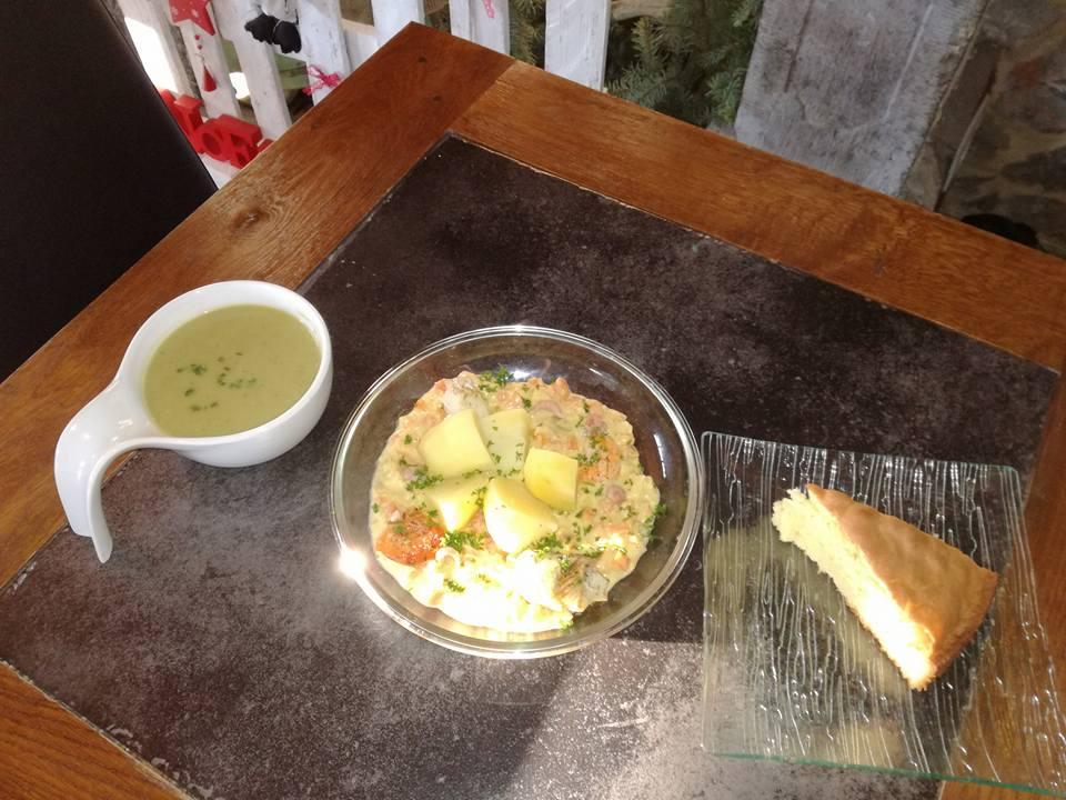 Plats livré à Matagne la Grande   Le Sus Scrofa, restaurant du terroir